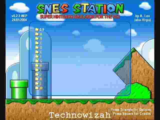 SNES Station Emulator