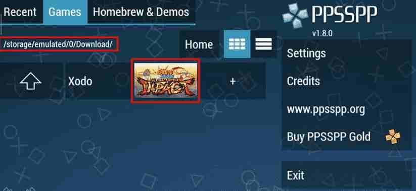 Download Naruto Shippuden Ultimate Ninja Storm 4 Impact MOD ( PPSSPP )
