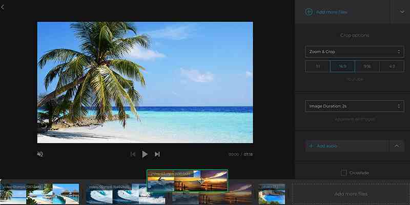 Clideo Adjust Video Tool