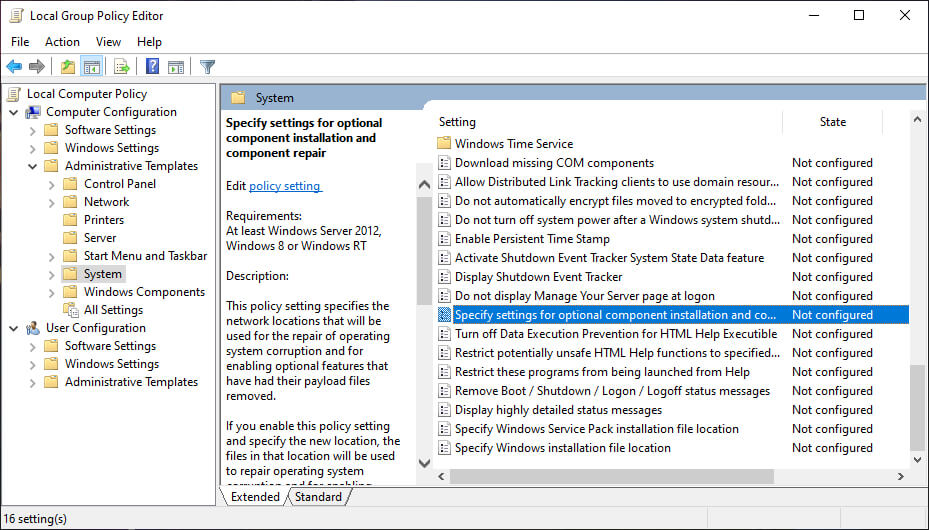 Configure Your Group Policy