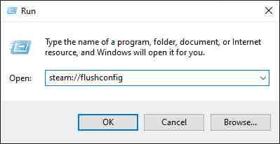 Delete Steam Configuration And Refresh Application