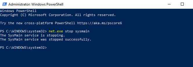 Disable SysMain To Fix 100% Disk Usage in Windows 10