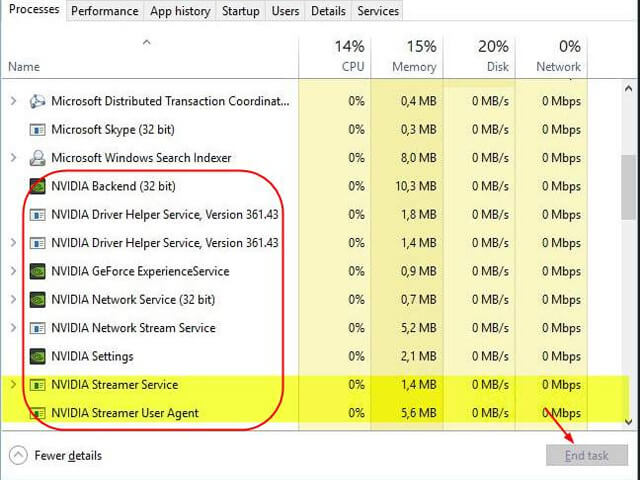 Fix Nvidia Geforce Experience Error 0x0003 on Windows 10 PC