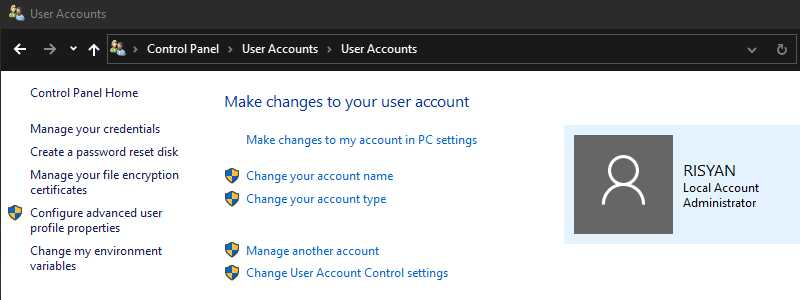 How to Check Windows User Account Type
