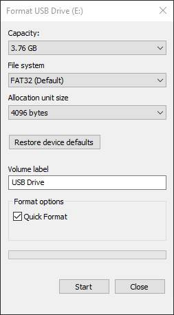 How to Format Pendrive in Windows