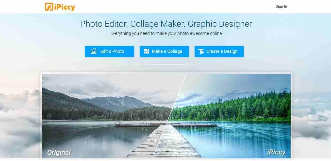 Ipiccy Photo Editor – Mobile