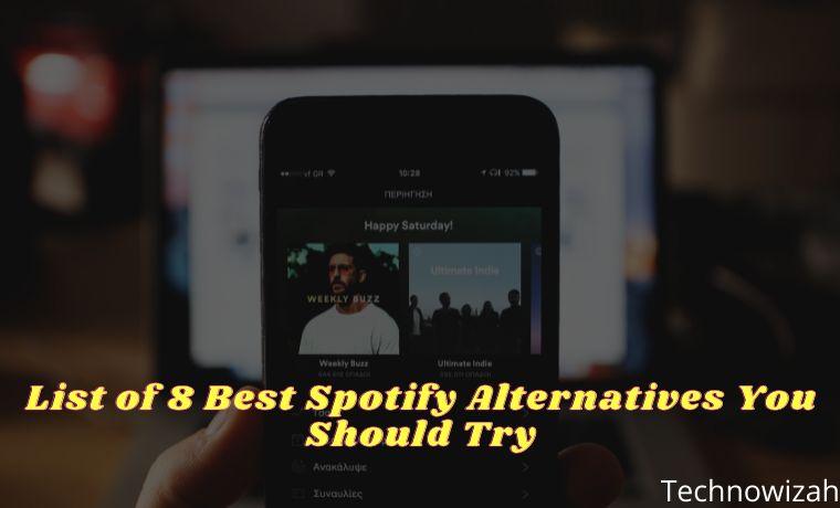 List of 8 Best Spotify Alternatives You Should Try