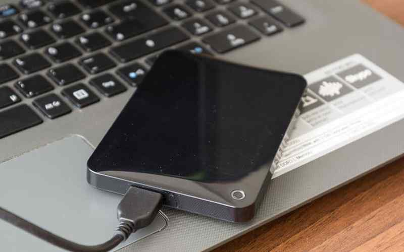 Make sure the external hard drive gets enough power