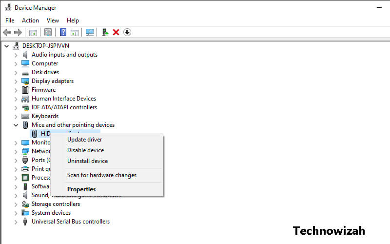 Reinstall Mouse Driver Driver