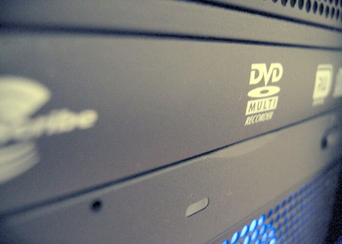 Removable Storage DVD-ROM Or Blu-ray