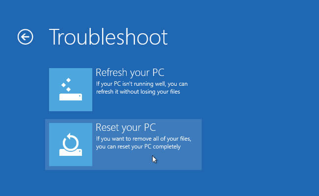Try System Restore Or Reinstall Windows