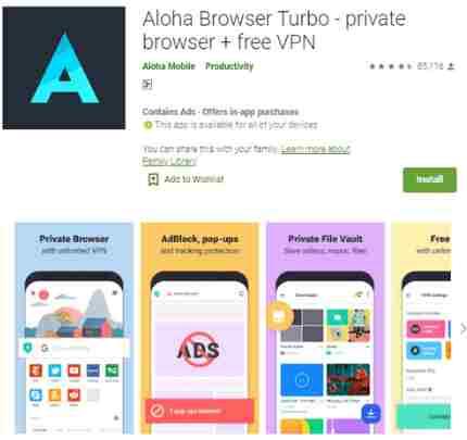 Aloha Browser Turbo