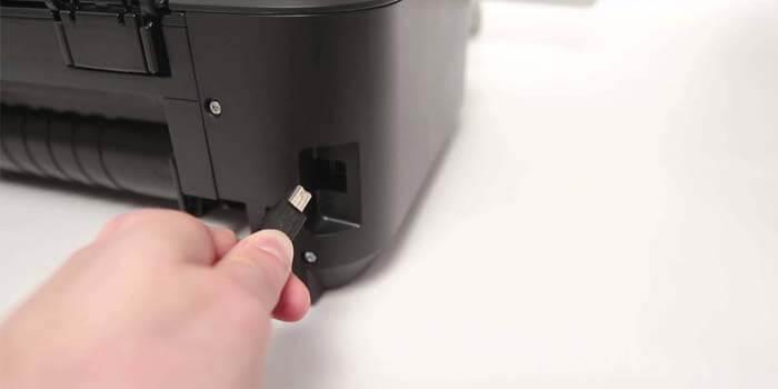 Check Printer USB Cable