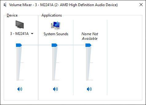 Check Sound Settings