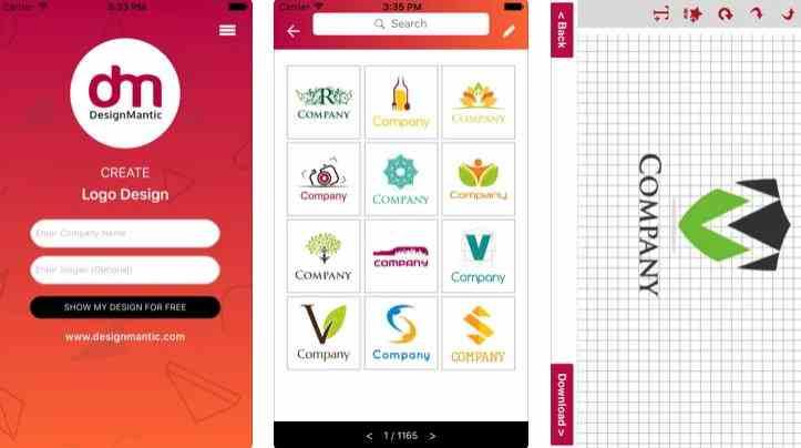 DesignMantic – Logo Maker