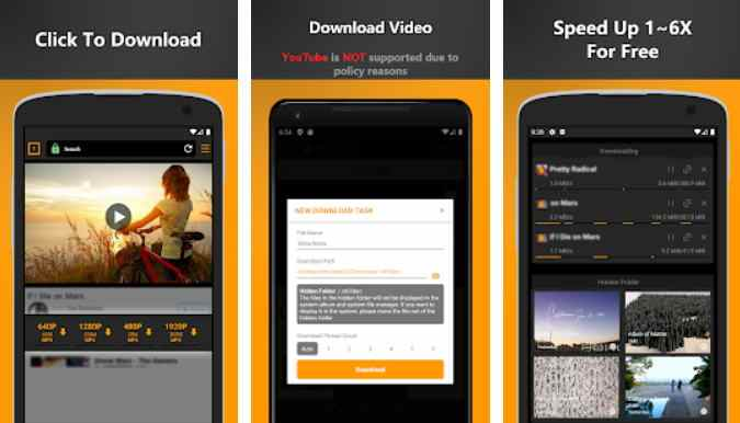 Free Video Downloader – private video saver