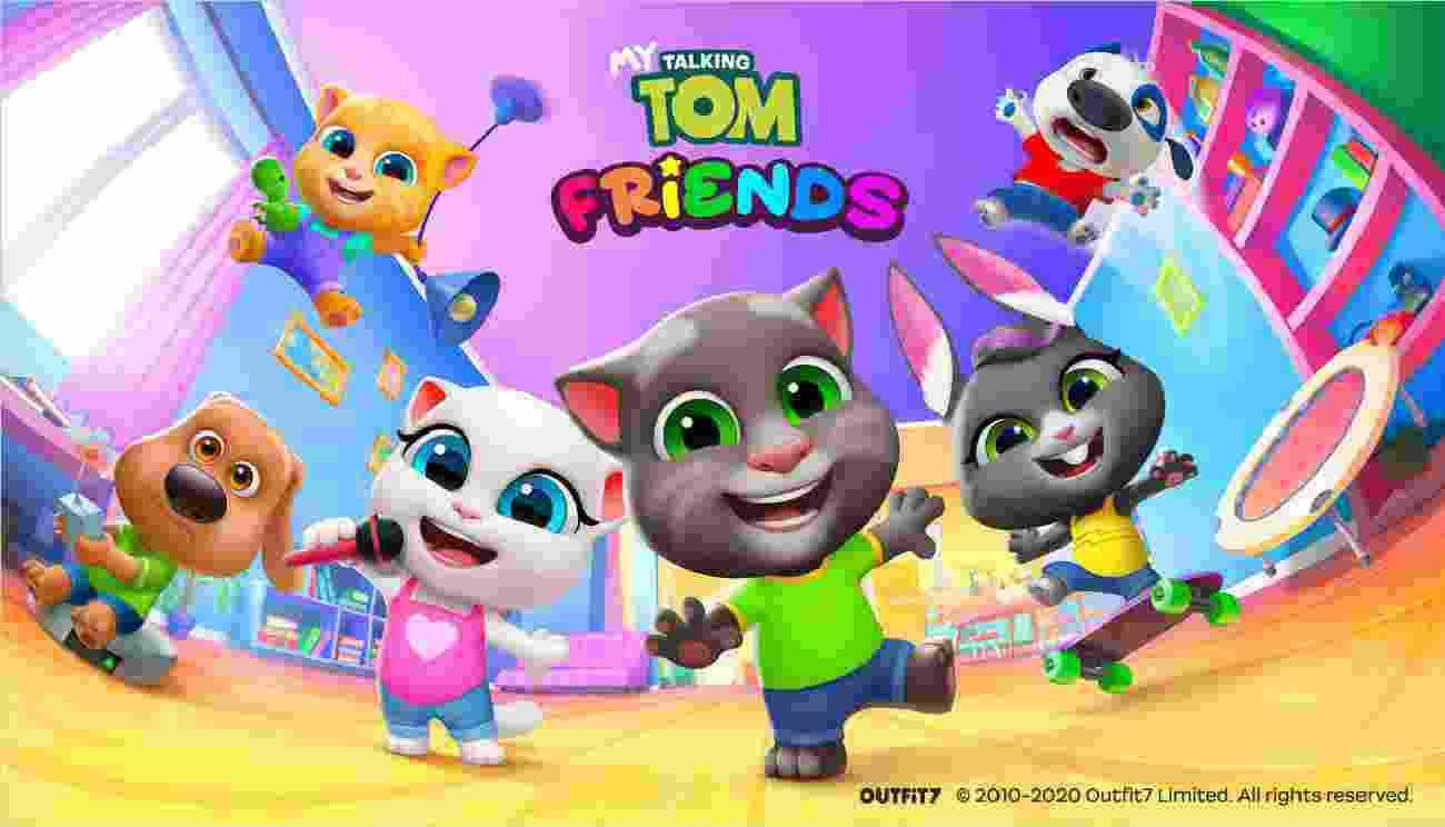 My Talking Tom Friends game