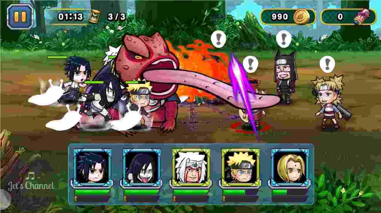 Ninja Rebirth – Monster Legend