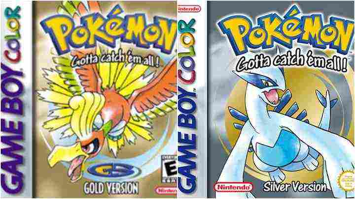 Pokémon Gold and Silver–Best Offline Pokémon Games