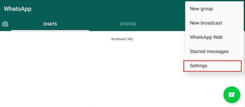 Steps to Change WhatsApp Dark ThemeSteps to Change WhatsApp Dark Theme