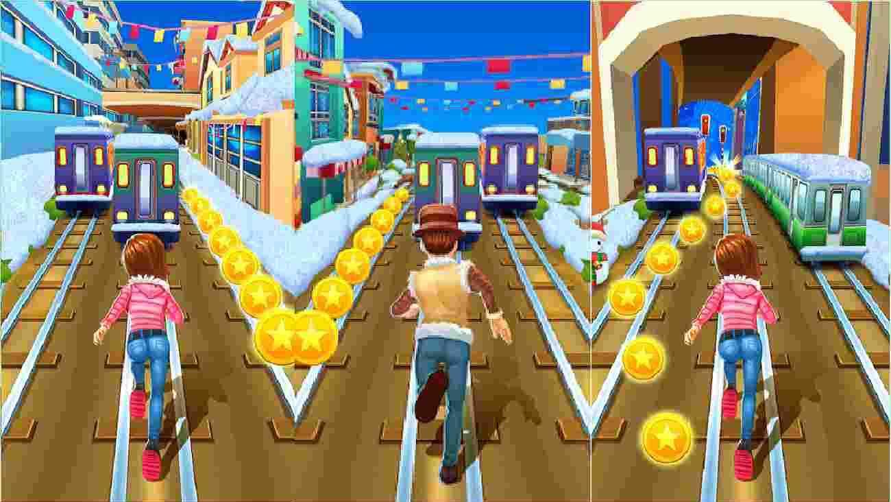 Subway Princess Runner game
