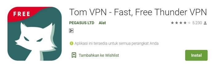 Tom VPN