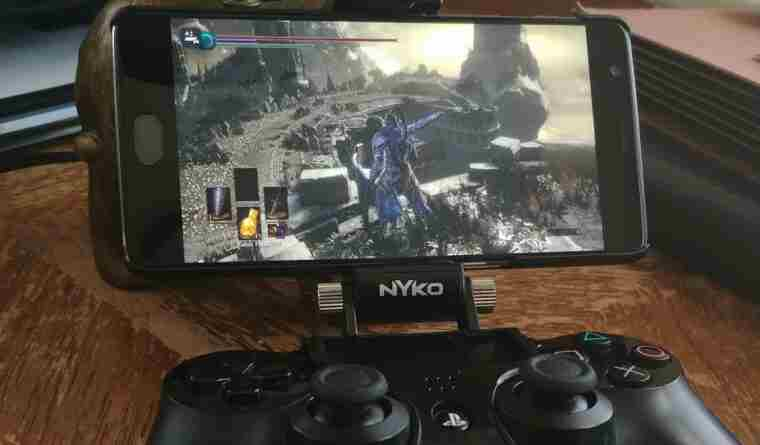 Using PS4 Android APK